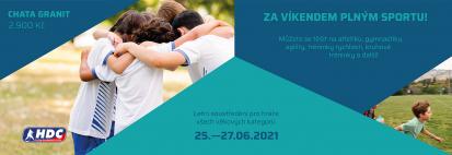HDC Sport víkend na Granitu od 25.6. do 27.6.2021